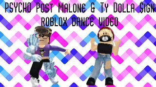 Post Malone FT. Ty Dolla $ign-Psycho (nightcore) roblox dance video