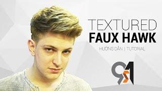 Cách cắt tóc và tạo kiểu nam Faux Hawk w Blumaan Orig…