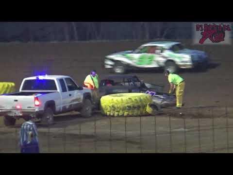 Salina Speedway - 4-27-18 - Make Up Hobbystock feature from 4-20-18 rainout