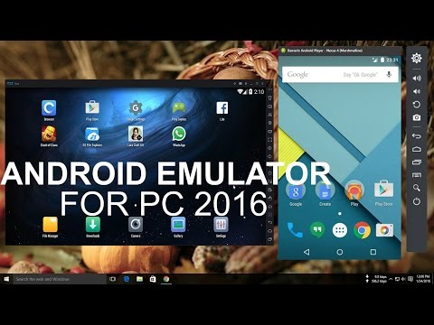 Top 5 Best Android Emulator For PC!