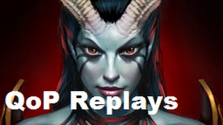 basics of queen of pain gameplay replay reviews dota 2 guide 6 85b