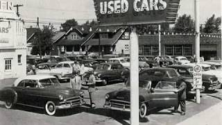 Car Lots and Assembly lines of the 50s