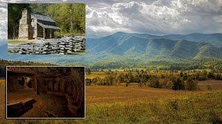 centuries old underground city discovered beneath cades cove