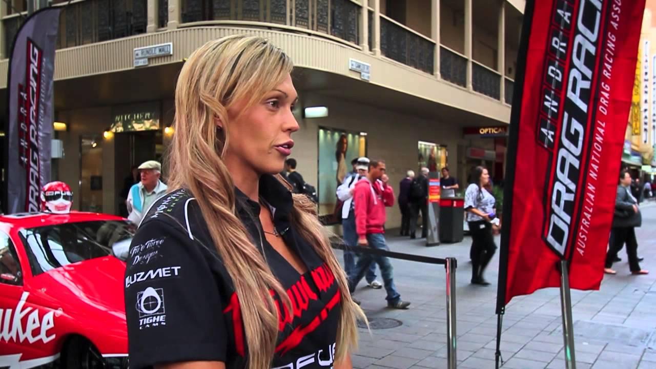 ANDRA Drag Racing - Kirsten Tucker unveils her Milwaukee ...