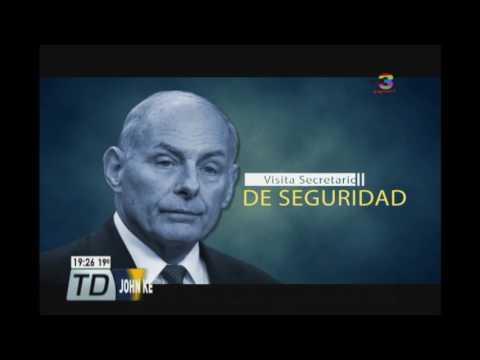 John Kelly alerta a guatemaltecos de no migrar ilegalmente a Estados Unidos