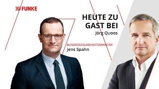 Corona, Gesundheits-App und Zukunftsperspektiven: Jens Spahn im Herder-Thalia-Funke-Talk