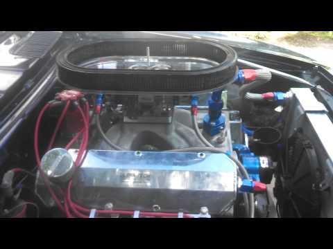 '67 Camaro 496 BBC idle
