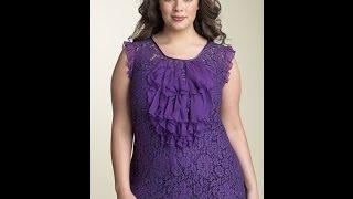 Блузки для полных женщин, которые их стройнят.(Нарядные, стильные блузки для полных женщин и девушек. Эти модели блузок стройнят фигуру полной девушки...., 2014-05-06T11:17:47.000Z)