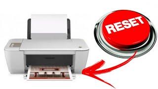 Cartucho protegido, resetar impressora hp
