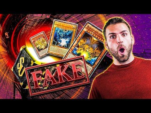 FAKE YuGiOh Pack Opening from the Flea Market! | EXODIA & GOD CARDS!!