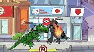 Scribblenauts Unlimited Wii U 51 King Kong vs Godzilla in Object Editor