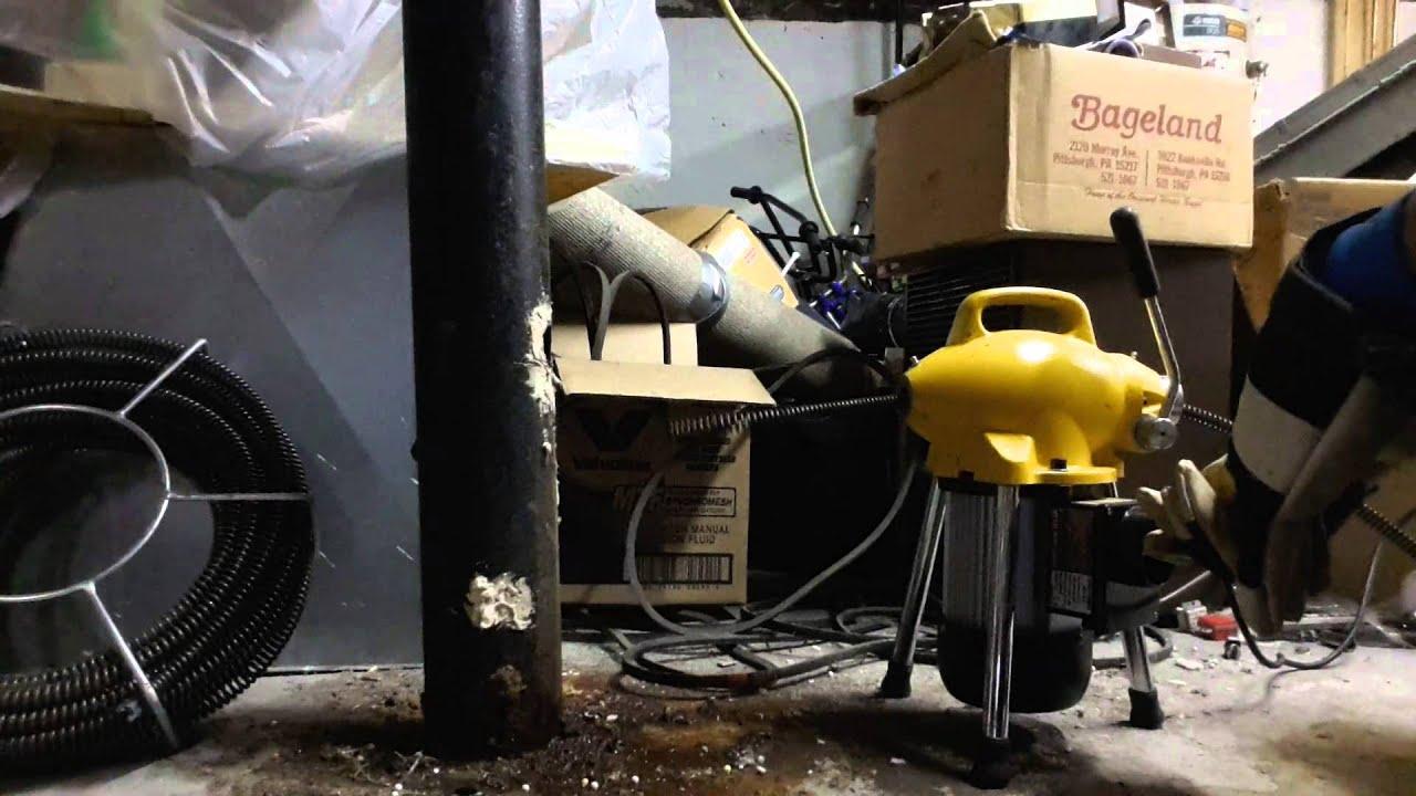 steel dragon tools k50 drain cleaning machine [ 1280 x 720 Pixel ]