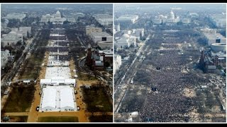 Trump press secretary disputes reports of low turnout at inauguration