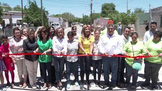 Entrega Gobernadora obras en municipio de Moctezuma