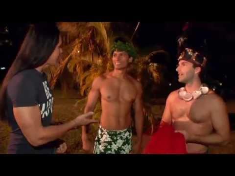 Charlie David dances his pants off literally in Moorea, Tahiti