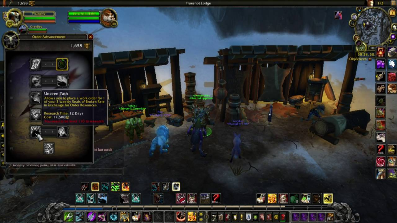 Optimized Hunter Class Order Hall Guide For Maximum Profit Youtube