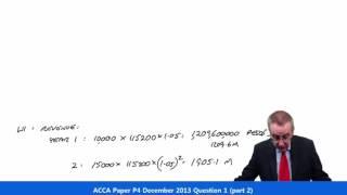 acca p4 question 1 december 2013 part 2
