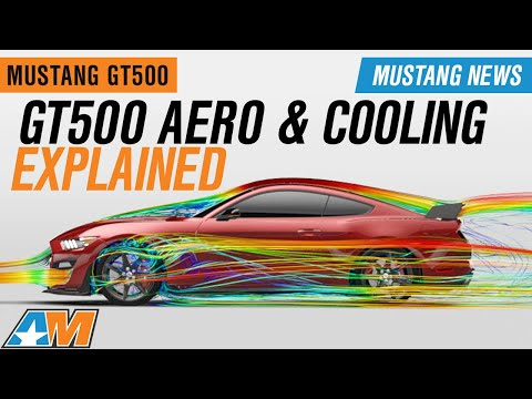 Official 2020 GT500 Aerodynamic and Cooling Data Explained + Giveaway – Mustang News