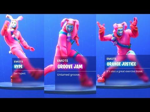fortnite battle royale all dance emotes season 4 - fortnite famous dance name