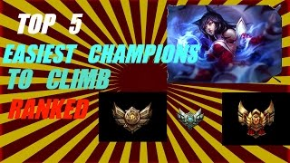 top 5 easiest champions to climb ranked