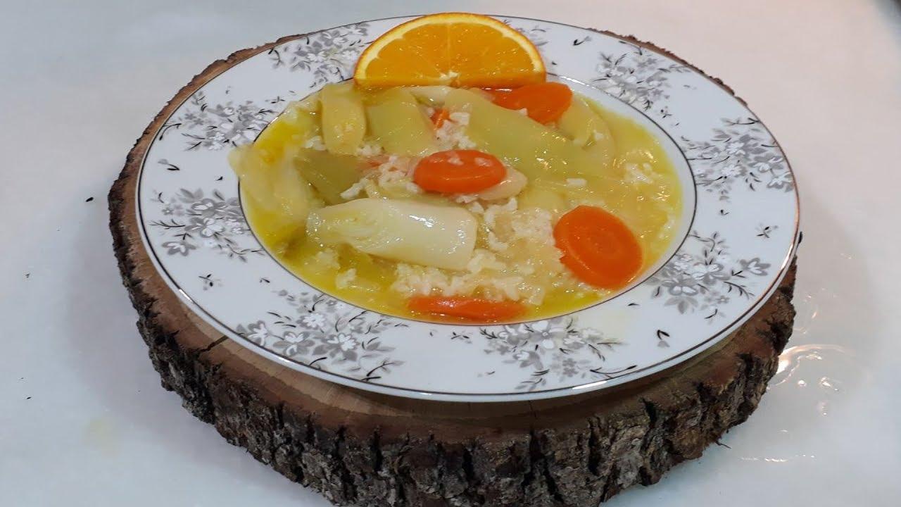 Portakallı Pırasa Tarifi – Zeytinyağlı Tarifler
