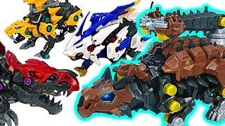 Zoids Wild dinosaur ZW21 Ankyrocks VS ZW12 Death Rex battle! #DuDuPopTOY thumbnail