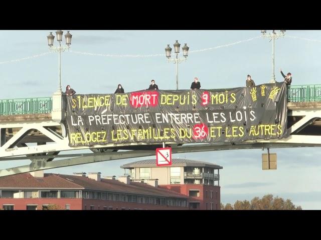 Action pour les familles du 36 rue roquelaine !