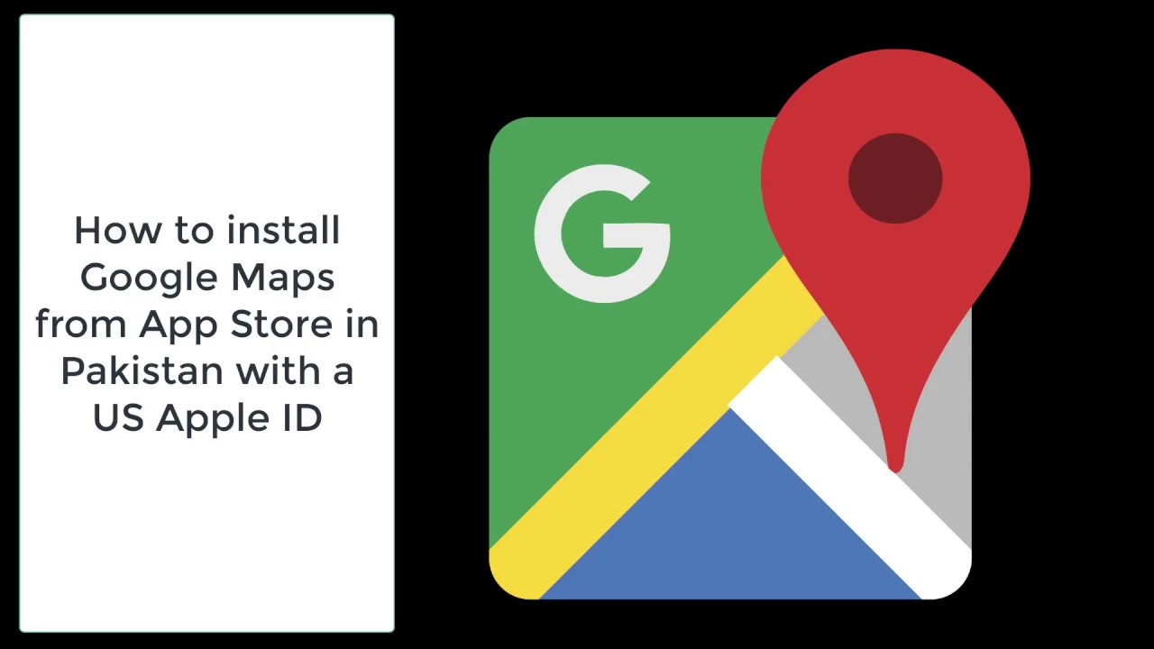How to install Google Maps in stan on iOS - YouTube Downloading Google Maps on
