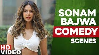 Sonam Bajwa | Top Comedy Scenes| Guddiyan Patole| Nikka Jaildar | Latest Punjabi Songs 2019