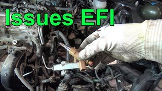 What are The most common issues in Fuel Injection System