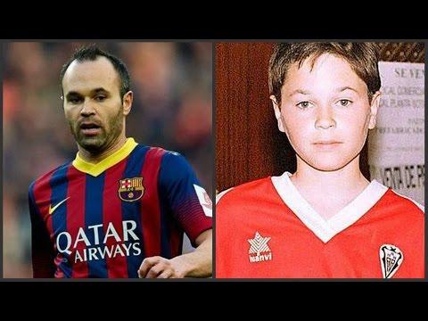 Футболисты ФК «Барселона» в детстве
