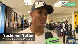 Yoshimar Yotún y lo importante de recibir nuevos jugadores en la Selección Peruana