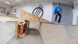 The NOT SAFE Skate Ramp ! / YOU MUST SKATE IT!