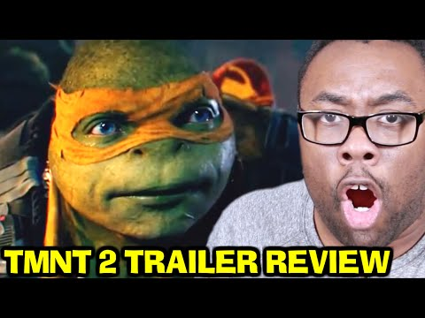 NINJA TURTLES 2 Movie Trailer Review  : Black Nerd