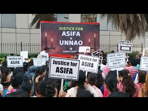 Justice for asifa Protest in mumbai