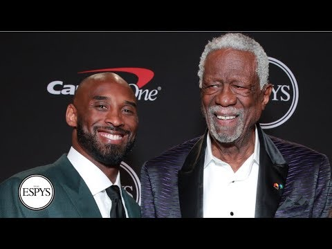 Kobe Bryant Salutes Bill Russell As He Receives The 2019 Arthur Ashe Award | 2019 ESPYS