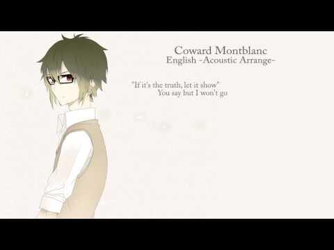 【Jefferz】 Coward Montblanc -Acoustic Arrange-  (English Cover)【DECO*27】 (弱虫モンブラン)