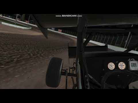 USA iRacing 410 sprint cars
