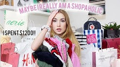 I went to the mall and spent too much $$$ ..  wow I didn't online shop (try on haul)