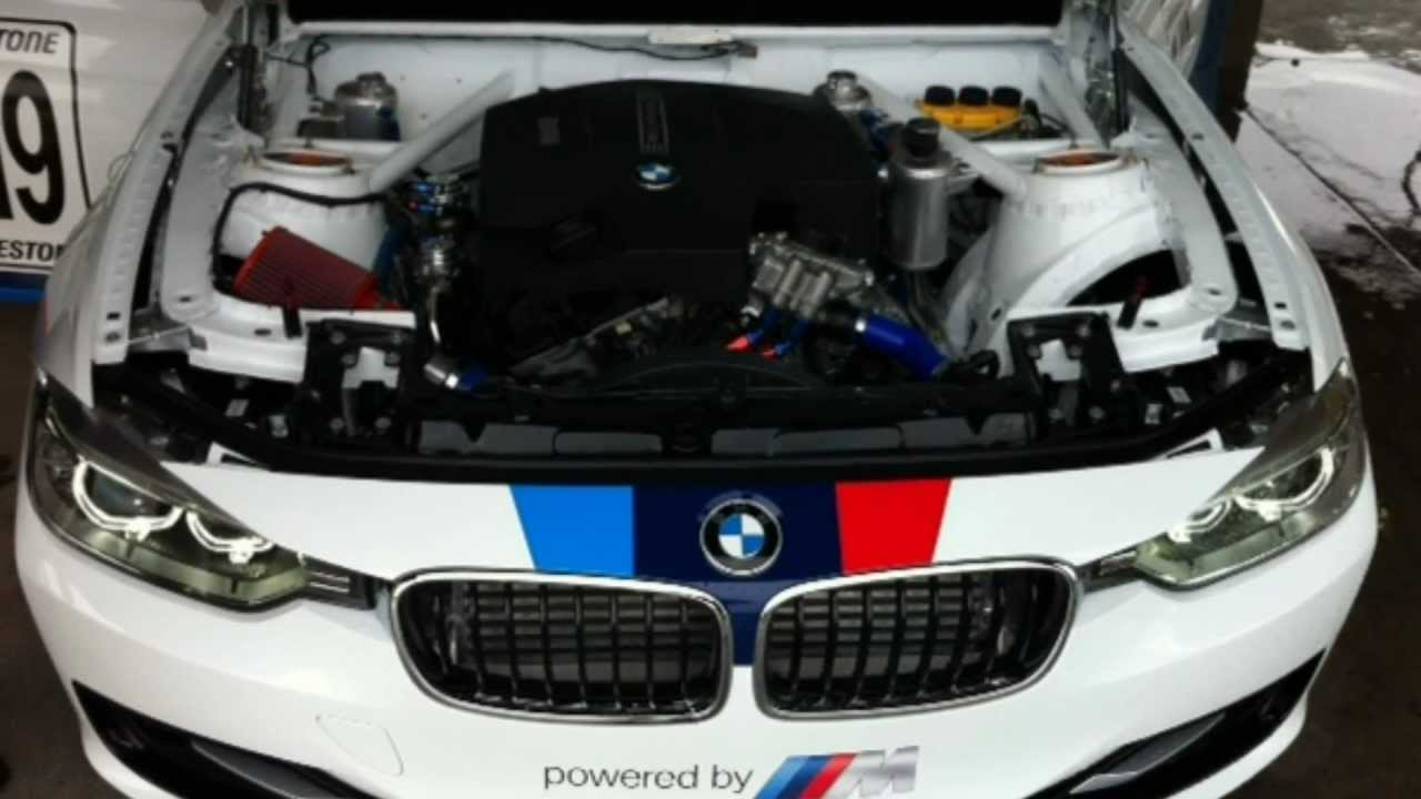 Bmw F30  Team Afrox With Suped-up Tv