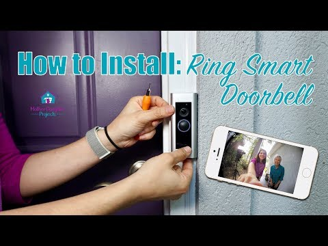 How to Install Ring Smart Doorbell