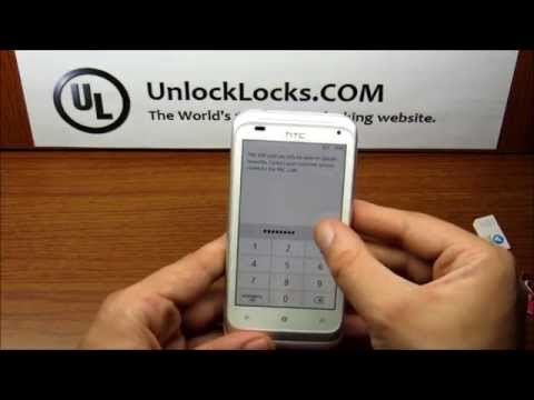 How To Unlock any HTC Windows by Code.