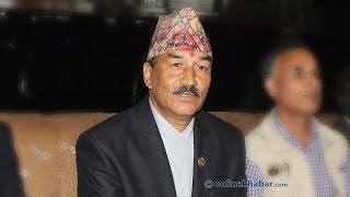 Deputy prime minister Kamal Thapa