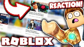 reacting to my first ever roblox videos
