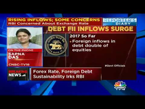 RBI Concerned By Rising Forex Inflows