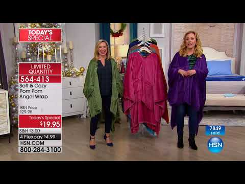 HSN | Soft & Cozy Gifts 12.11.2017 - 01 AM