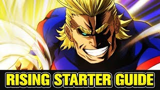 Starter Guide to My Hero Academia SMASH RISING! [Timestamps in Description]