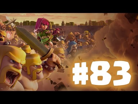 Clash Of Clans Oynuyoruz #83: DUVARLAR!
