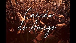 Detonautas Roque Clube - Canção do Amigo (Lyric Vídeo)