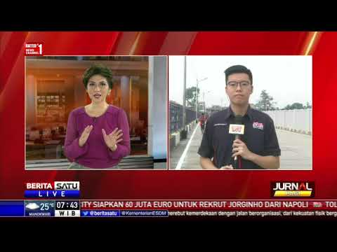 Pagar Besi Kali Item Sambut Asian Games 2018
